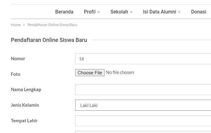 plugin data siswa