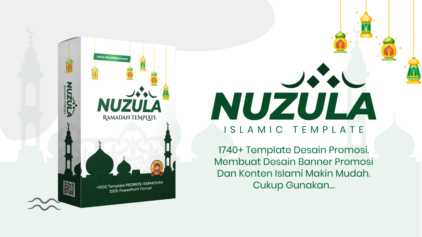 template promosi powerpoint islami