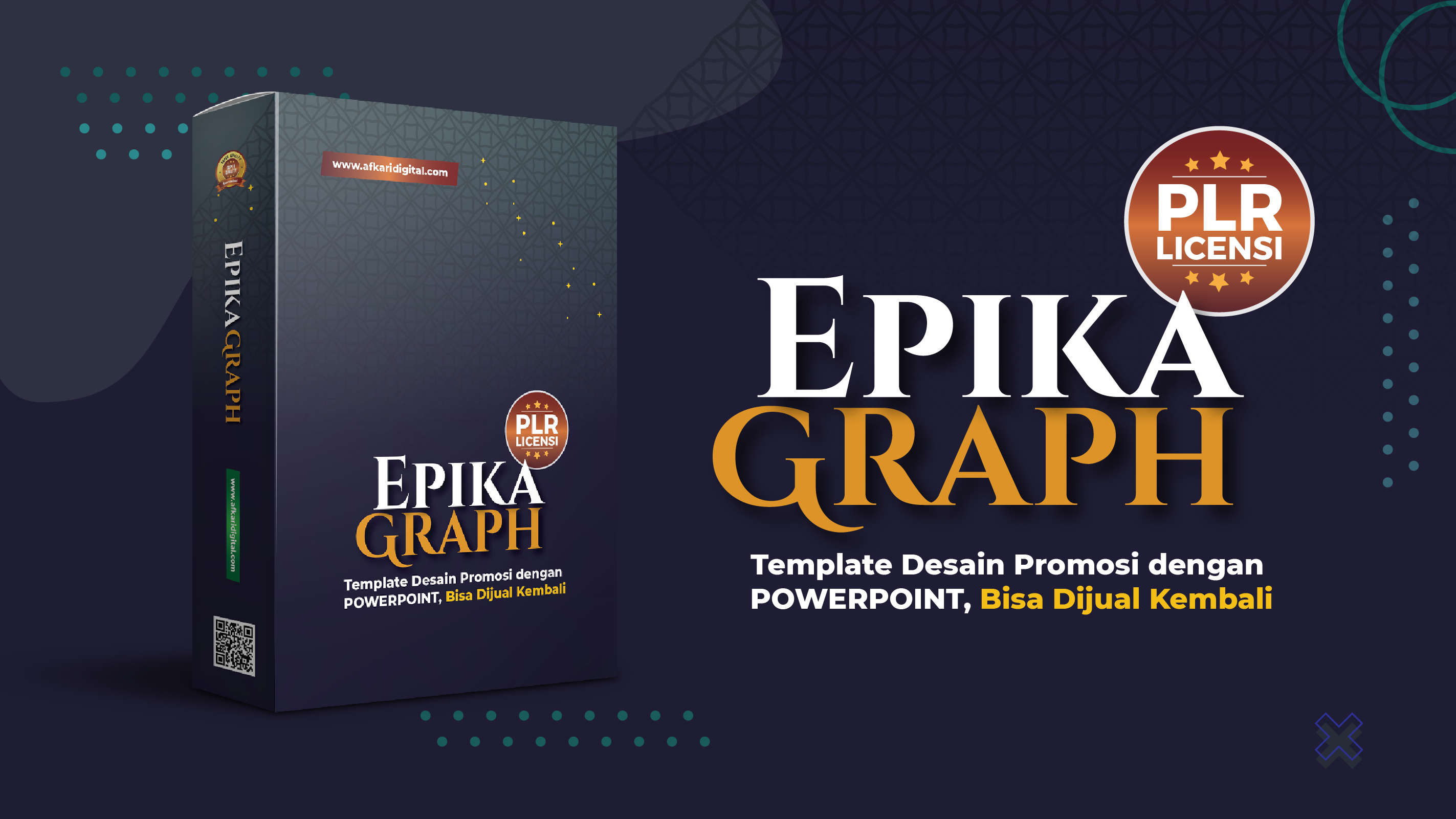 template promosi powerpoint