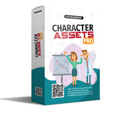 Box Cover Character Asset Pro